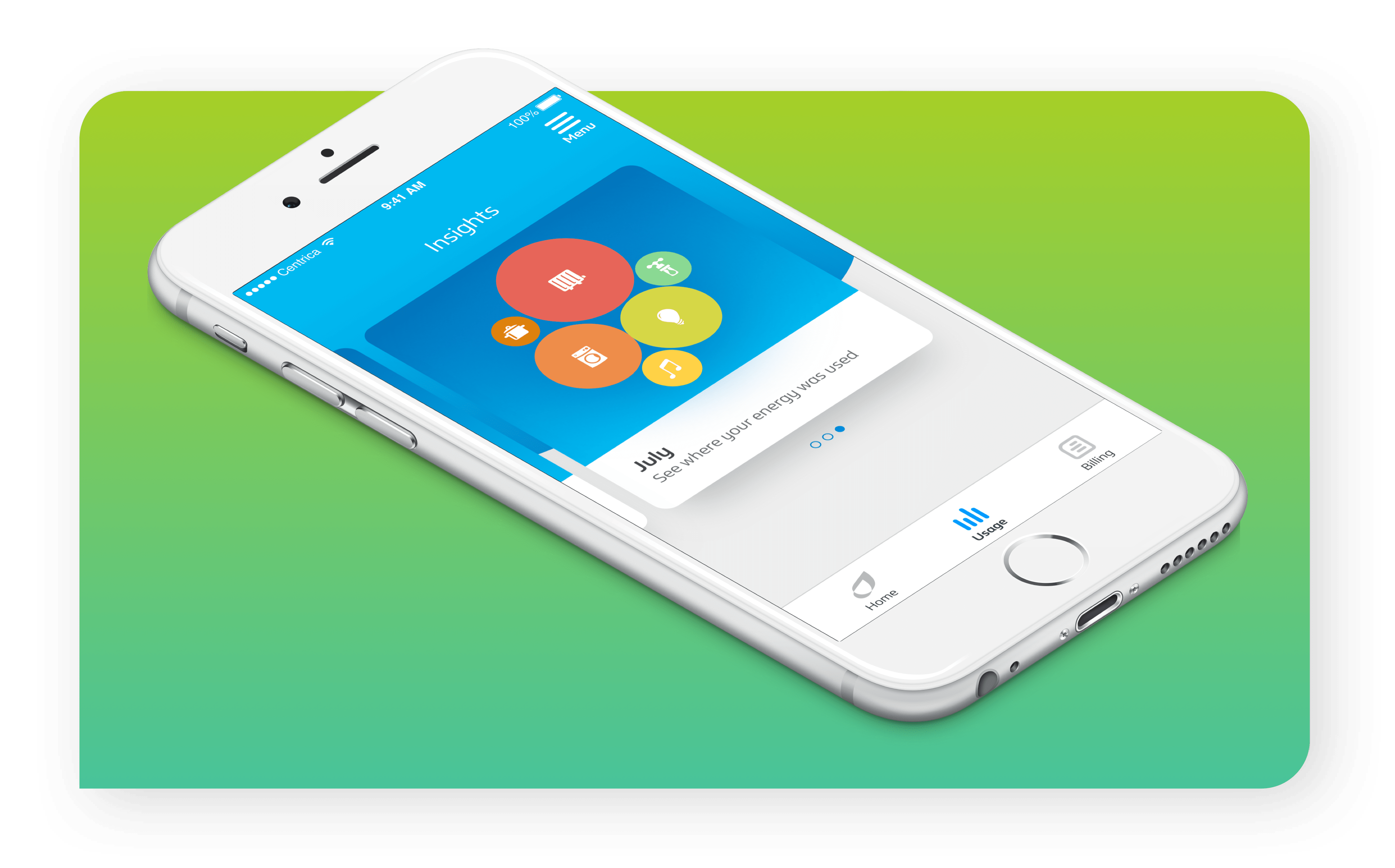 Download the British Gas App for iPhone and Android