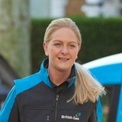 A British Gas business electricity employee