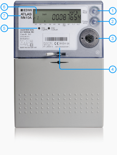 Electric Meter Number : How your electricity smart meter works british gas business